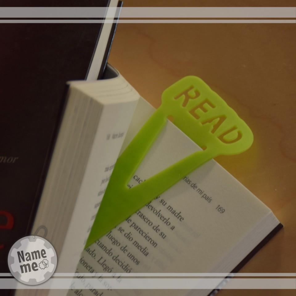 סימניה לקריאה באנגלית